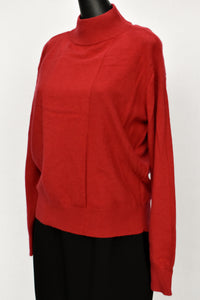Autograph cashmere with silk red jersey, size 8