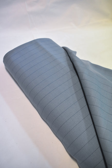 Pure wool blue fabric, 150cmx2m
