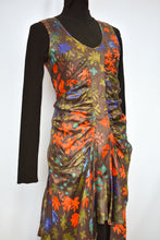 Load image into Gallery viewer, Silk hand printed Miranda Brown dress, size 10