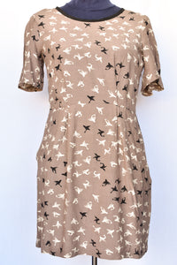 Kate Sylvester flying fish pattern dress, size S