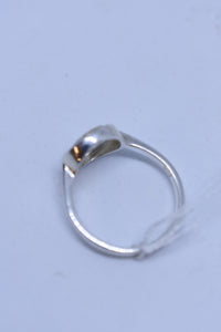 925 silver ring with diamantes