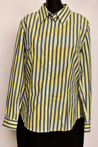 R. M Williams striped cotton shirt, size 12