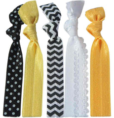 Bumble Bumble Bee Hair Tie 5 Pack