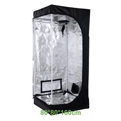 Grow Tent  2.6x2.6x5.2ft (80x80x160cm)