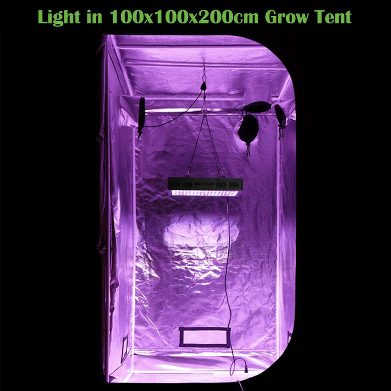 1200W LED Grow Light, Veg and Bloom Switches Full Spectrum Plant Growing Lights