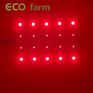 ECO Farm 30W Cree Chips Red 660nm + Far Red 730nm Aanvullende verlichting Quantum Board grote korting
