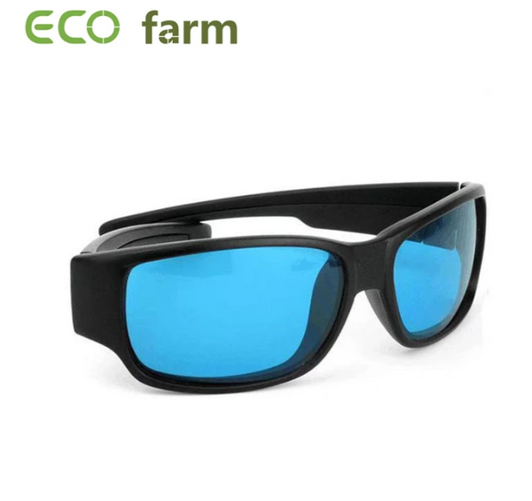 ECO Farm Eye Protect-bril LED Grow Room-bril Antiglans Uv-blauwe lens voor tent Kas hydrocultuur