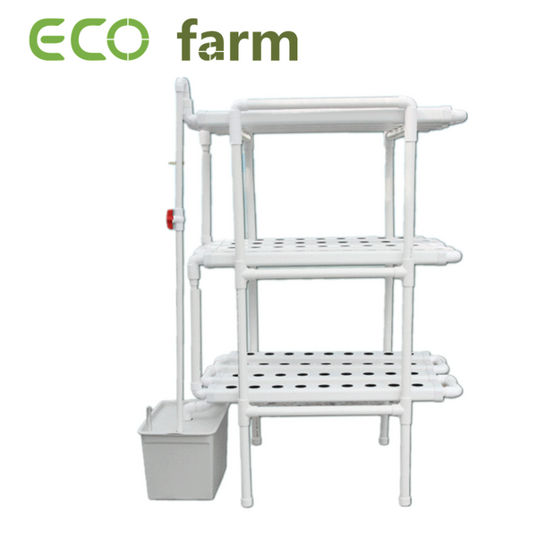 ECO Farm Hydroponics Grow Rack-systeem Multi-Layer 12 Tube Soilless Cultivation Equipment