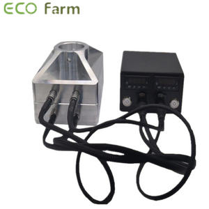 ECO Farm 4 * 7 Inch Hars Pers Persmachine Convex Plate Kit met vier verwarmingsstaven