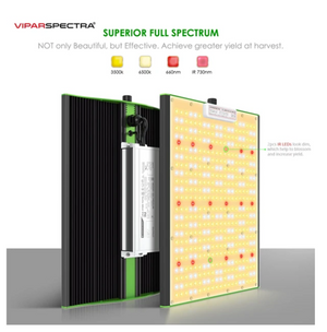 VIPARSPECTRA Pro-serie P1500 LED-groeilicht 150W Full Spectrum Quantum Board