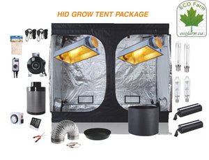 Eco Farm 8 x 4FT (96 x 48 x 80 Inch / 240 x 120 x 200 CM) DIY Grow-pakket Indoor Complete kweektent