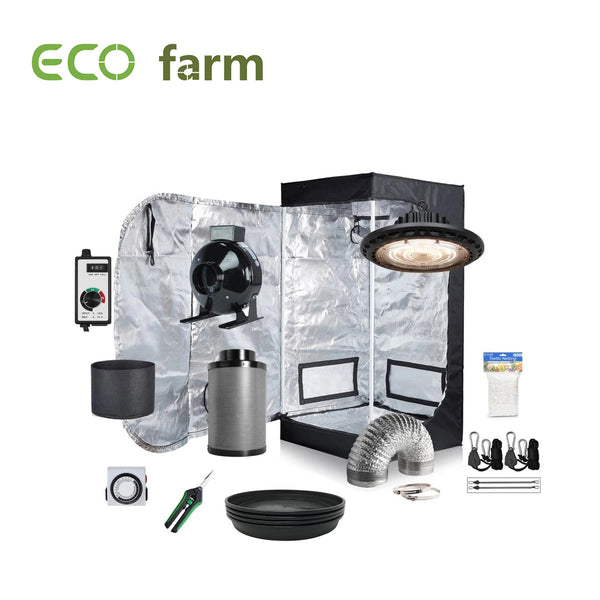 Eco Farm 1.3 x 1.3FT (16 x 16 x 48 Inch / 40 x 40 x 120 CM) DIY Grow-pakket