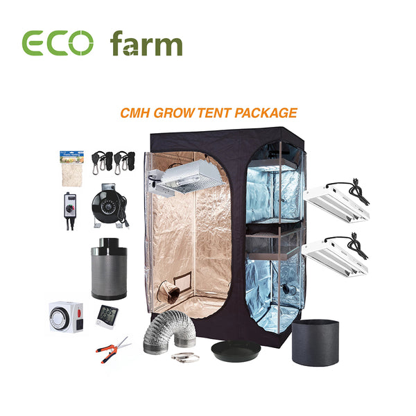 Eco Farm 4 x 3FT (48 x 36 x 72 Inch / 120 x 90 x 180 CM) DIY Grow-pakket Indoor kweektent-systeem