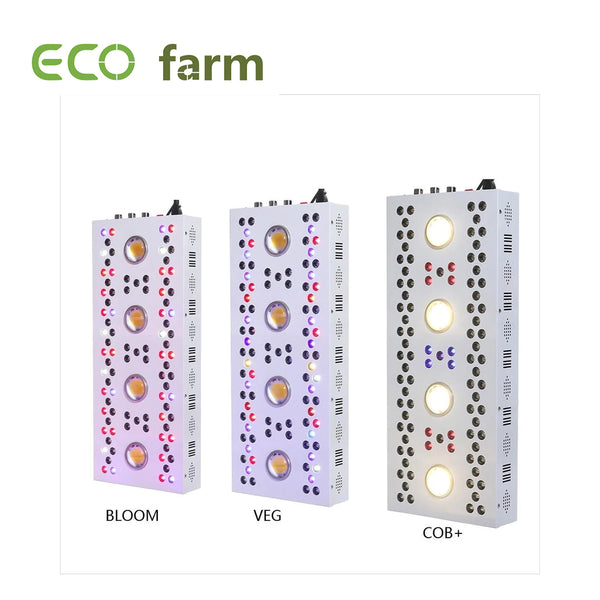 ECO Farm Volledig spectrum 325W / 550W / 620W / 680W / 1256W Led Kweeklampen