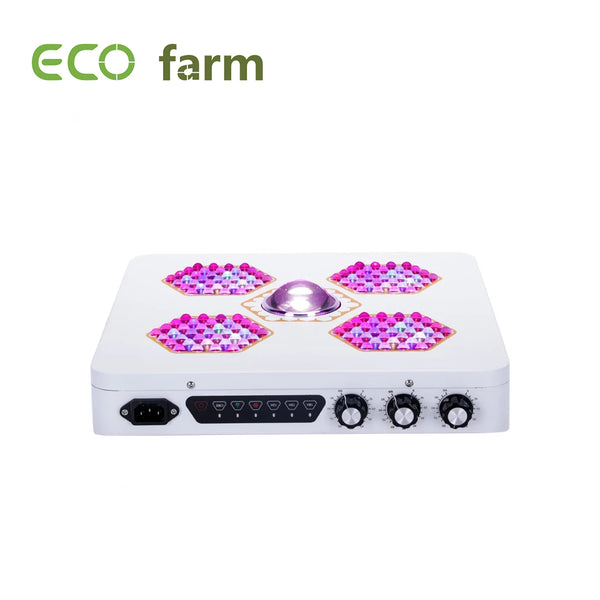 Eco Farm 800/1200W Cree COB Full Spectrum LED Plant Kweeklamp