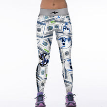 Load image into Gallery viewer, Creative Funny! 3D Tiger Print White Leggings Women Fitness Legging Sexy New12 Styles Stretch Breathable Wicking Leggign Leggins