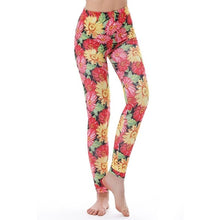 Load image into Gallery viewer, KYKU Brand Unicorn Leggings Women Leggins Fitness Legging Sexy Pants High Waist Push Up Shiny 3d Printed Rainbow Star Cat Donuts