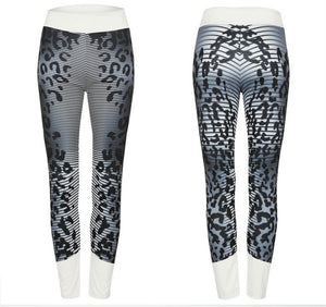 CHRLEISURE Sexy Leopard Printed Leggings Women High Waist Push Up Legging Fitness Sportswear Leggins Pants Women 2 Colors S-XL