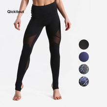 Load image into Gallery viewer, Qickitout Sexy 4 Colors Fashion Slim Mesh Pants Women Hips Ladies Legging Push Up High Waist leggings XS-XL