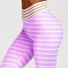 Load image into Gallery viewer, High Waist Fitness Wear for Women 3D Zebra Pattern Print Leggings Women's Stripes Capris Ladies Girl Seamless Stretch Pants