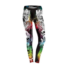 Load image into Gallery viewer, FCCEXIO New Style 5 Colors Skeleton High Waist Leggings Skull 3D Legging Stretch Fitness Legins Women Workout Pants