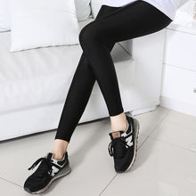 Load image into Gallery viewer, Push up leggings Women Black Sexy Leggins Shiny Legging Autumn Winter Slim Leggings Stretchy Soft Large Size Spandex Legging