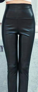 Leather Leggings High Waist Woman Leggings High Quality Legging Femme Free Shipping