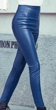 Load image into Gallery viewer, Leather Leggings High Waist Woman Leggings High Quality Legging Femme Free Shipping