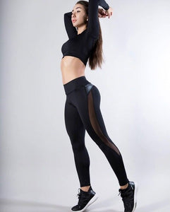 Women High Waist Fitness Leggings Workout Trousers New Fashion Casual Women Clothes Leggings
