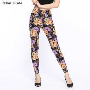 Women Leggings 2019 Fashion Star Print High Waist Stretch Elasticity Leggins Spring Autumn Slim Skinny Leggings Pants Female