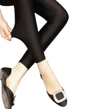 Load image into Gallery viewer, S-3XL New Autumn 2019 Fashion Faux Leather Sexy Thin Black Leggings Calzas Mujer Leggins Leggings Stretchy Plus Size 4XL 5XL