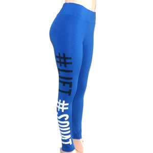 Letter Printed Workout Push Up Leggings Women Pants Slim Cotton Fitness Legging Plus Size Legins Leggings Plus size XXL 6032
