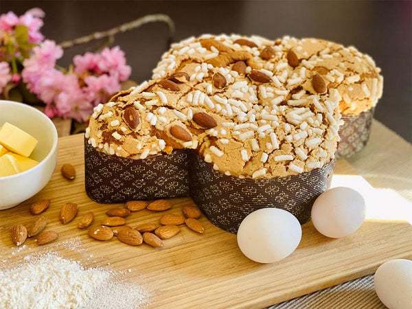 easter colomba bread