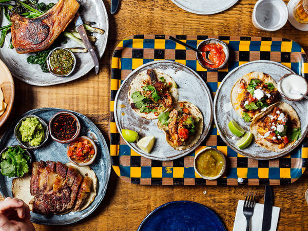 Breddo's Tacos Clerkenwell Plates Mexican Food