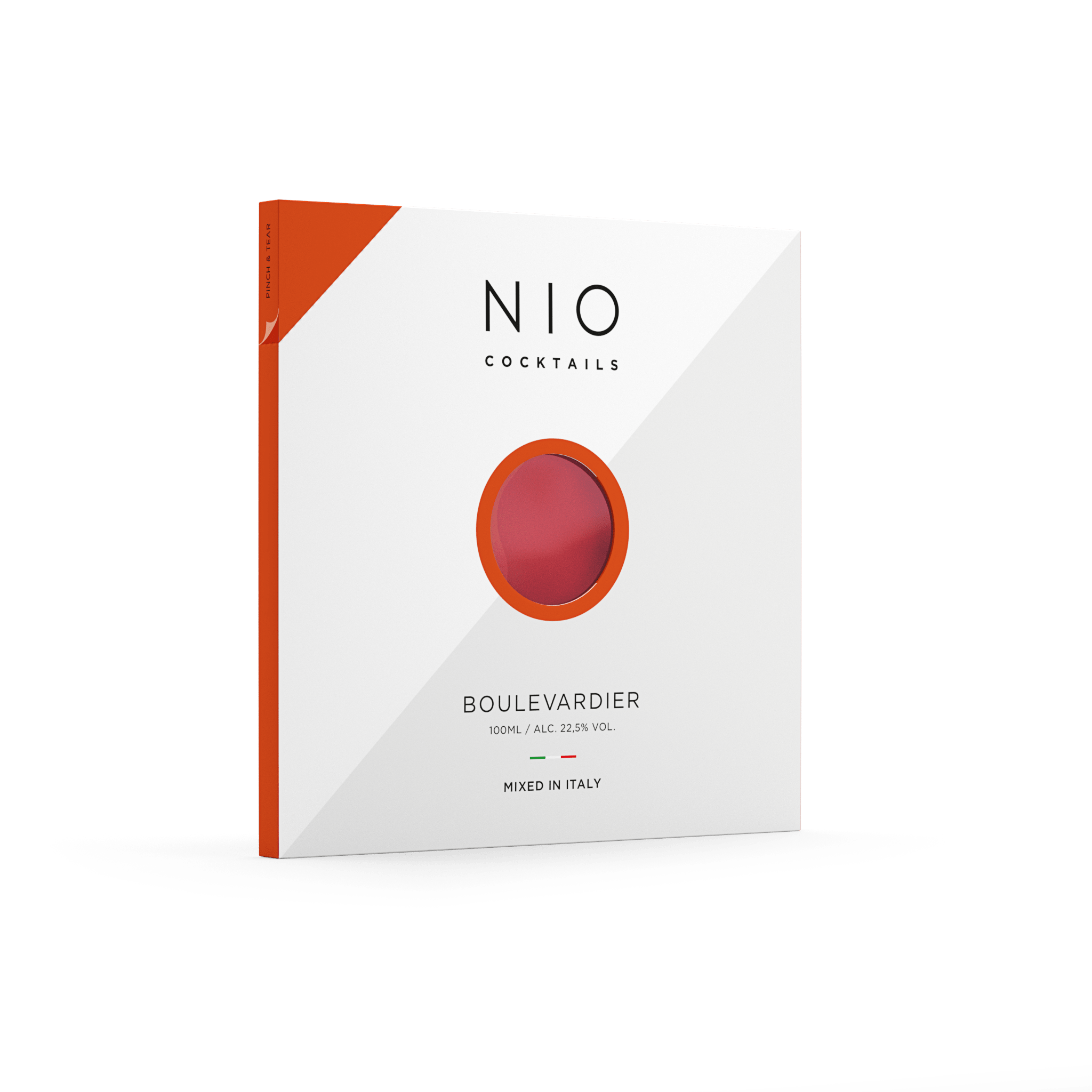 classic bourbon cocktail in 100ml ready to serve packaging from NIO Cocktails UK