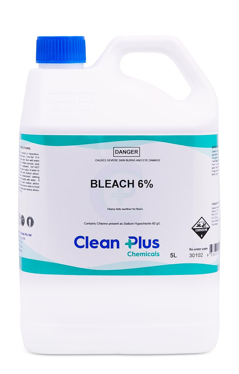Disinfectant Bleach 6% 5L