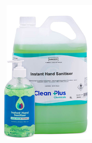 Clean Plus Instant Hand Sanitiser