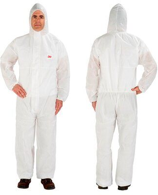 3M Disposable Protective Coverall 4515 PPE Protective Suits & Coveralls Type 5/6