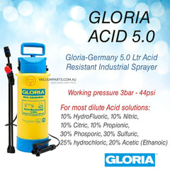 Gloria 5 Litre Acid Resistant Industrial Sprayer
