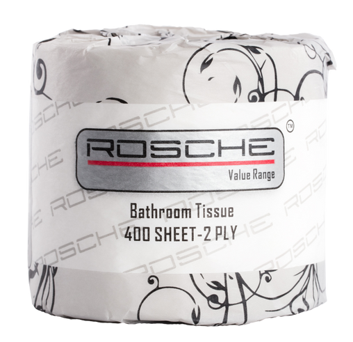 Rosche 6600V Value Bathroom Tissue 400 Sheets 2 Ply (Ctn 48)