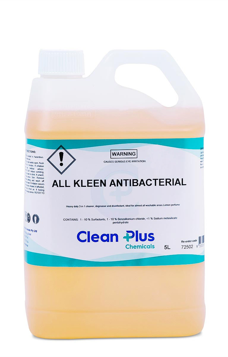 All Kleen Antibacterial Cleaner, Deodoriser & Disinfectant 725