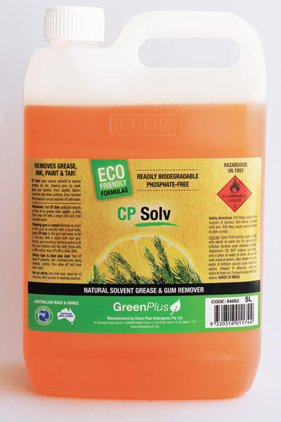 CP Solv Natural Solvent Based Cleaner - Degreaser