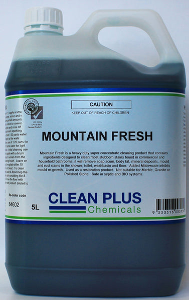 Super Concentrated Mountain Fresh Washroom Cleaner 846