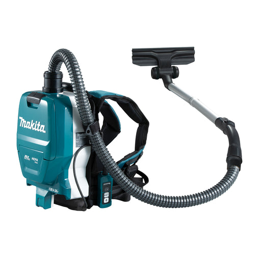 Makita DVC261X 36V (18Vx2) Li-ion BRUSHLESS Backpack Vacuum,. 3 Speed, Cordless