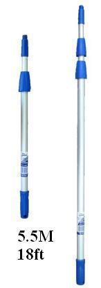 5.5m / 18' Edco Professional Extension Pole (3 Sections)