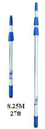 8.25m / 27' Edco Professional Extension Pole (3 Sections)