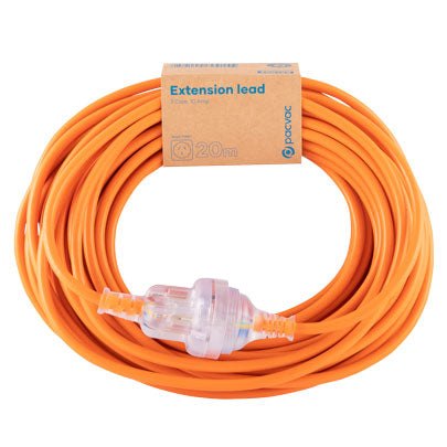 Pacvac Genuine Extension Lead - Cord  20 meter 10 Amp 3 Core