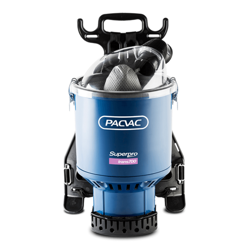 PACVAC Superpro 700 Trans Backpack Vacuum Cleaner