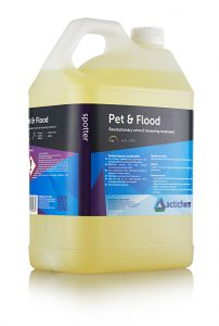 Pet and Flood - Deodorisers & Sanitiser