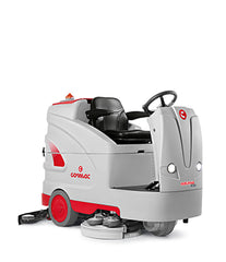 Comac Optima 100 101cm Ride on Battery Scrubber Complete